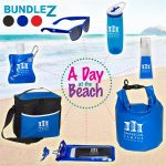 This kit includes everything you need for a day at the beach!