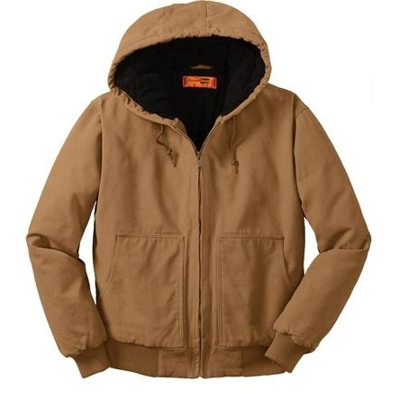 Workwear jacket made from duck cloth. Insulated to make the perfect outerwear piece
