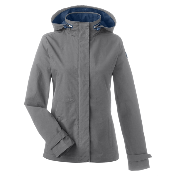 Women's Nautica rain jacket for the biggest or smallest storm
