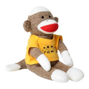 sock monkey for baby kit